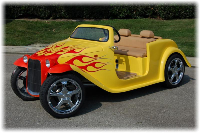 California Roadster Electric Golf Carts on