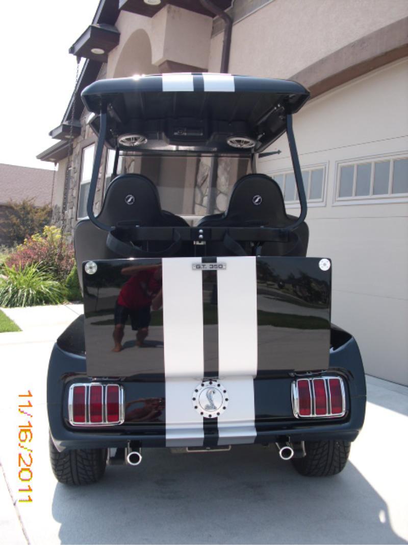 Electric Custom Golf Carts Steert Legal