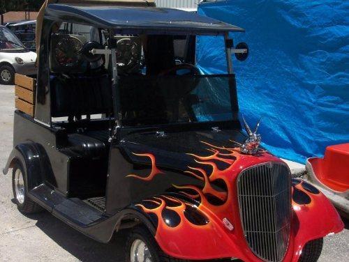 on Yamaha Golf Cart S