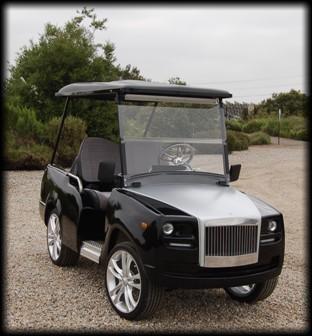 Custom Limo Golf Carts on