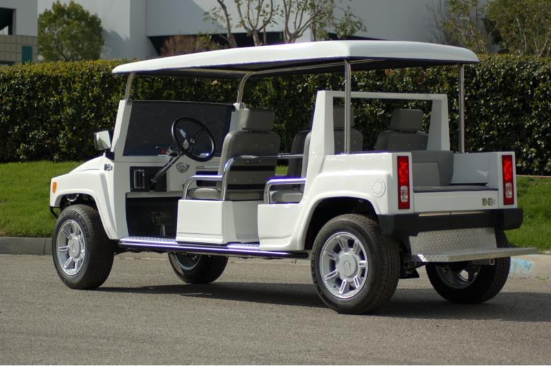 Custom Limo Golf Carts